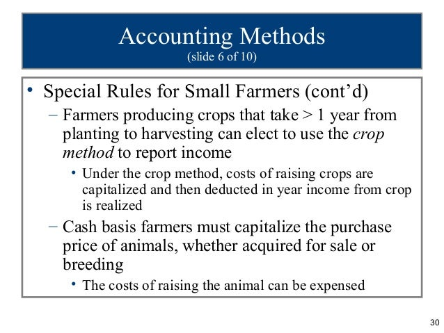 Accounting For Certain Costs And Activities