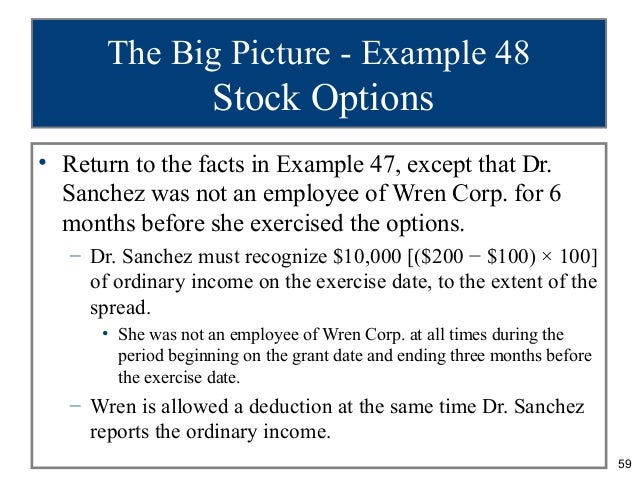 Are non qualified stock options taxed as ordinary income