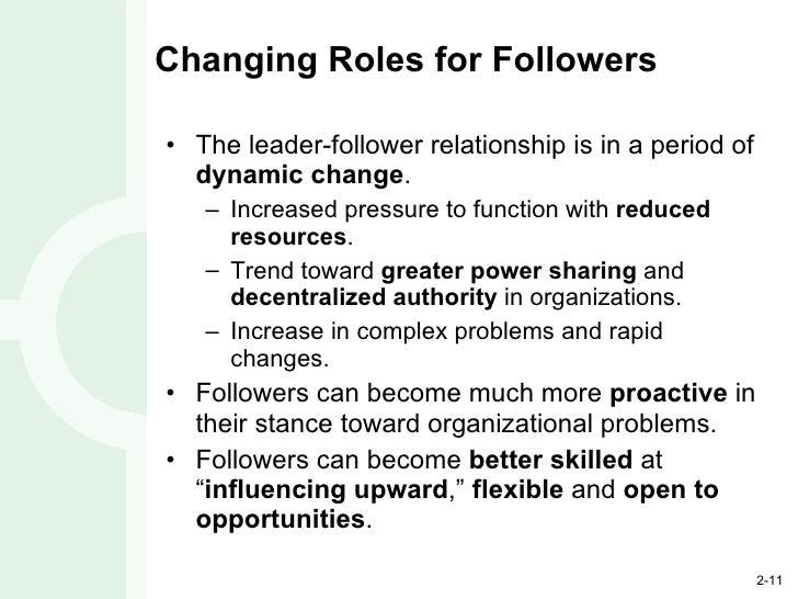Leader follower relationship definition essay