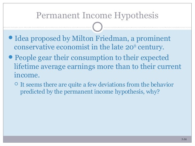 Absolute, Relative and Permanent Income Hypothesis (With Diagram)