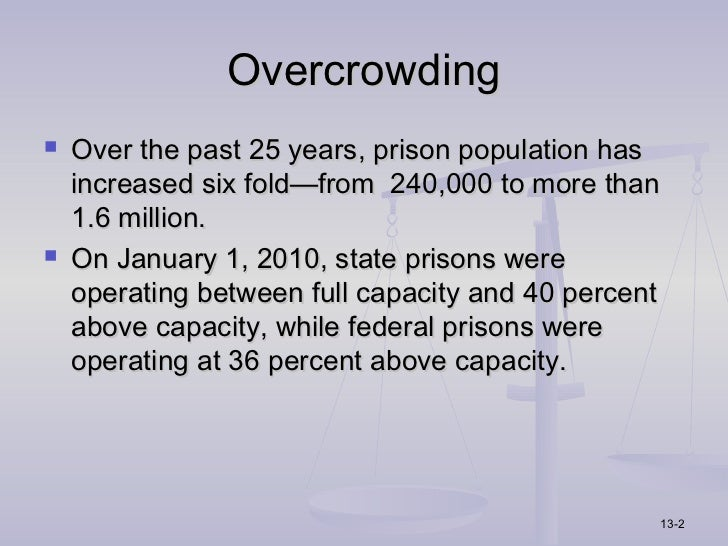 prison overcrowding 2 essay Prison overcrowding: description prison overcrowding: description we will write a custom essay to write between $2-3 billion in prison.