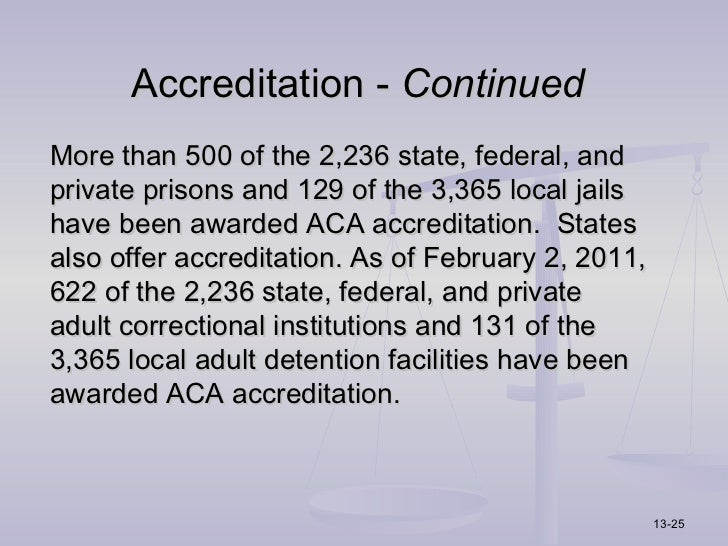 aca standards for adult local detention facilities