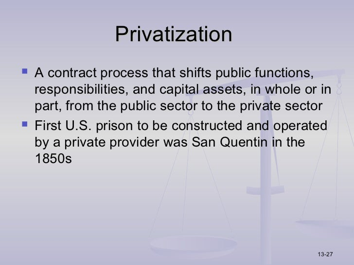 accreditation and private prisons Corrections corporation of america (cca), the nation's oldest and largest for-profit private prison corporation, is commemorating its 30th anniversary throughout 2013 with a series of birthday celebrations at its facilities around the country.