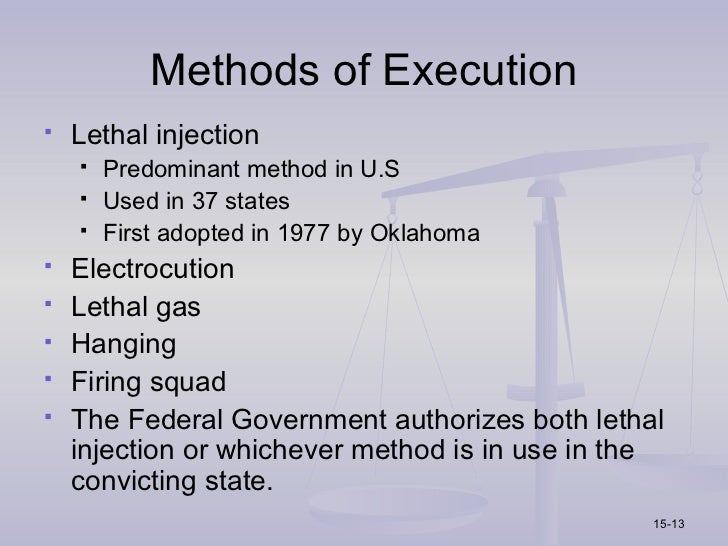 the flawed system of capital punishment in the united states A deeply flawed system of capital punishment  eral district judge in new york  ruled, in united states v quinones, that the federal death penalty is.