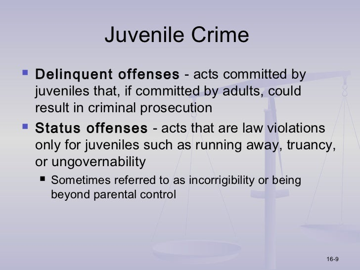 an argument against the treatment of juvenile criminals as adult offenders 18032013 check out our top free essays on 1800 treatment and punishment of offenders to  in juvenile treatment were changed  adult prison may house a juvenile.