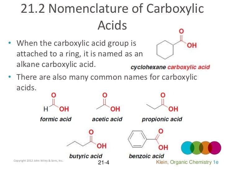 Organic Chemistry Chapter 21 Klein