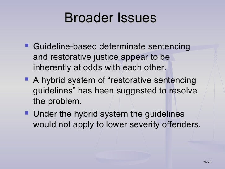 a determinate sentence The end of indeterminate sentencing in new indeterminate model a shift from indeterminate sentencing to determinate sentencing.