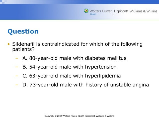 Sildenafil When To Administer