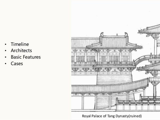 A Brief Introduction Of Ancient Chinese Architecture Yanbin ZHUO 22th Jan 2