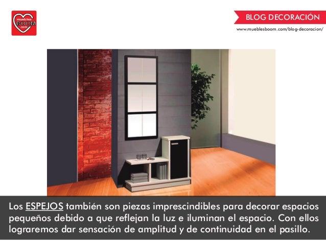 Guia de decoraci n de muebles boom c mo decorar pasillos estrechos - Opiniones de muebles boom ...