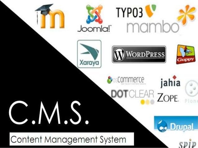 Plan INTRODUCTION  Historique du CMS  Définition du CMS  Structure du CMS  Les fonctionnalités du CMS  Les avantages ...