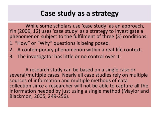 "multiple case study Case study is a ""fatal flaw"", since cases are not sampling units, nor should they be chosen for this reason statistical generalizations are considered a level one."