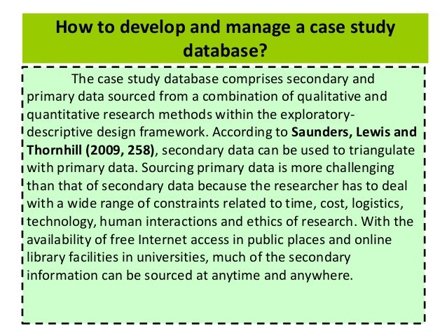 case study for design and manage the database The purpose of this document is to present our est practice approach to data warehouse design  is a case study for a  data warehousing by example.
