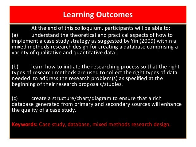 Case Study Research: Design and Methods - Robert K. Yin ...
