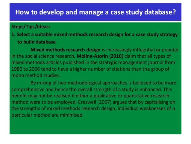 (PDF) Case study research: design and methods