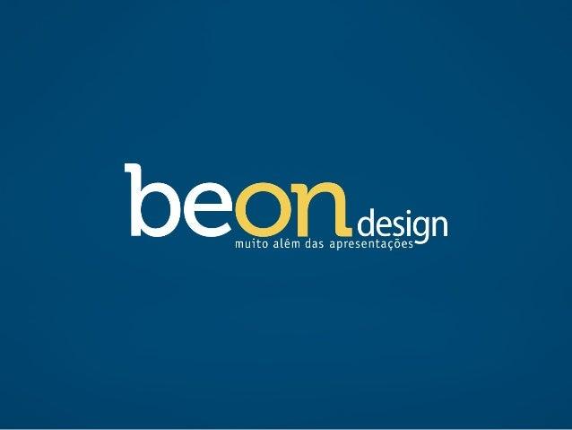 Apresentação comercial | Beon Design