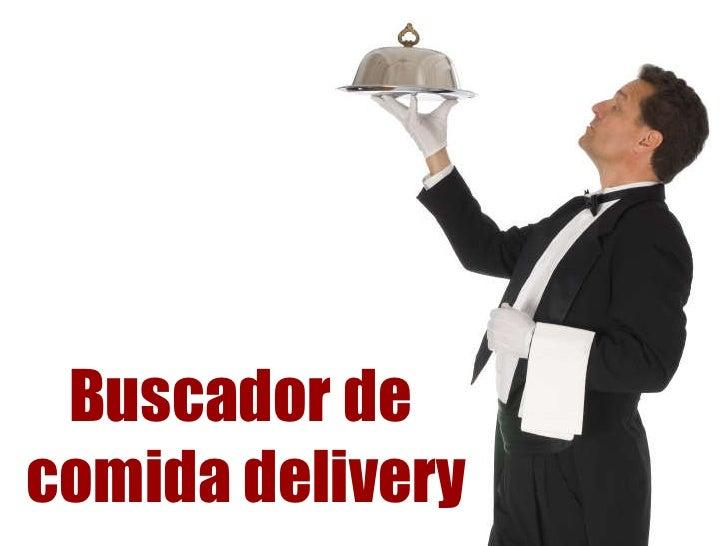 Buscador de  comida delivery