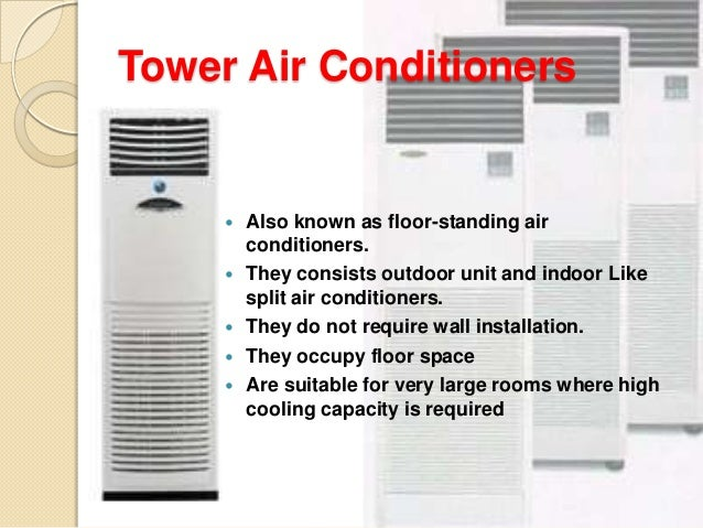 Common Air Conditioning Units