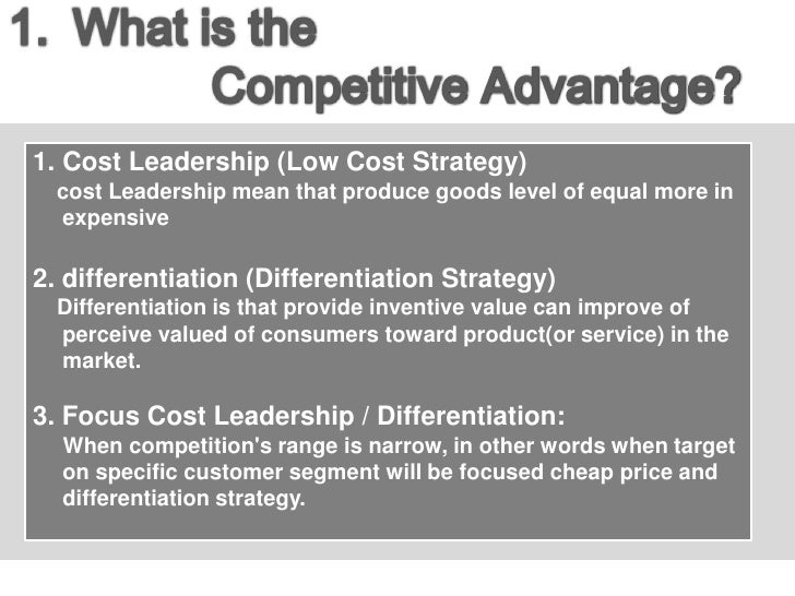 define cost leadership competitive strategy