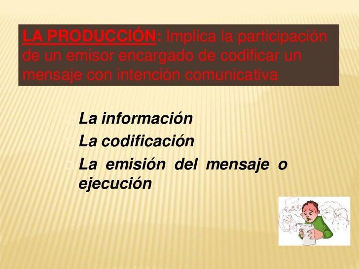 LA COMPRENSIÓN: Implica laparticipación del destinatario en unproceso que abarca:  La percepción o recepción del   mensaj...
