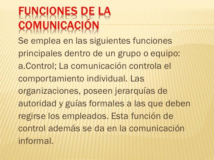 Comunicación Oral           Comunicación EscritaSonidos / signos gráficos          Canal auditivo               Canal visu...