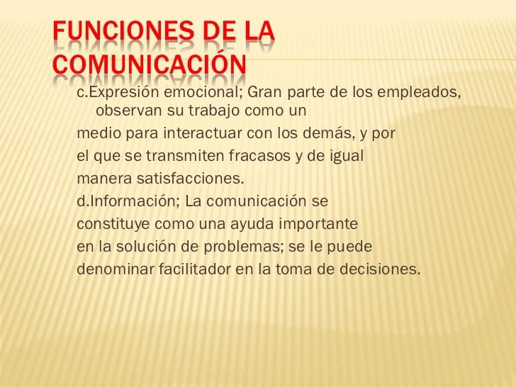 Ppt comunicacion