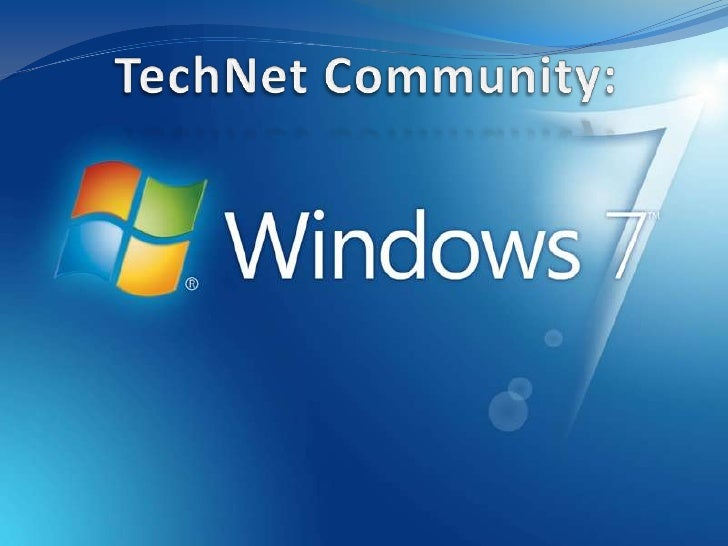 TechNet Community:<br />