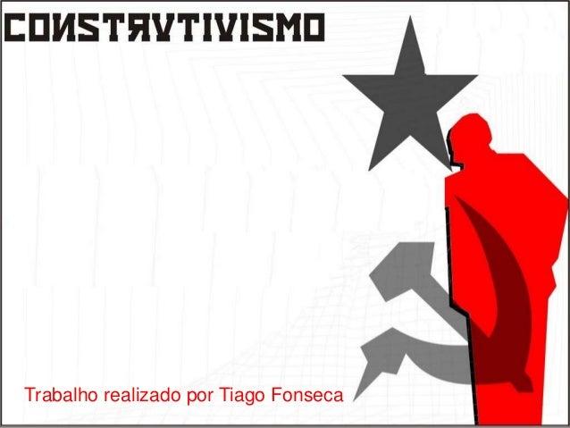 Trabalho realizado por Tiago Fonseca