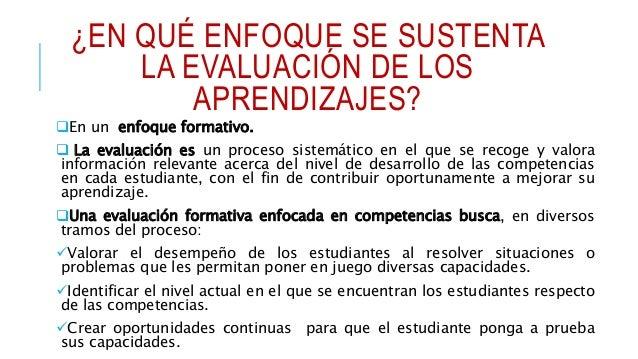 ORIENTACIONES PARA EVALUACIÓN Comprender la competencia por evaluar. Analizar el estándar de aprendizaje del ciclo Sele...
