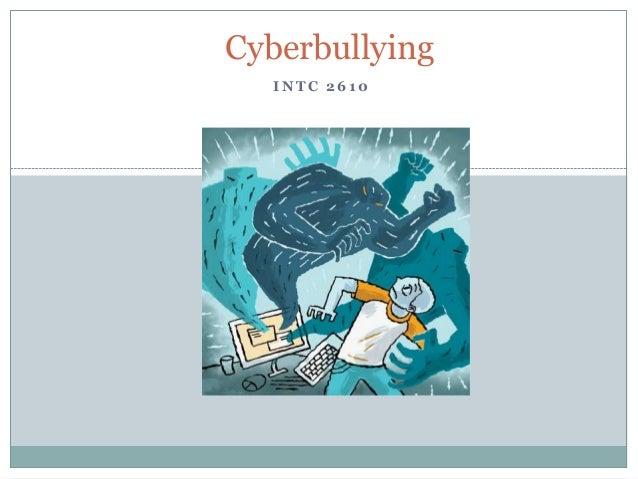 Cyberbullying INTC 2610