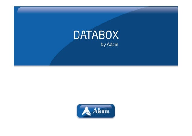 DATABOX    by Adam