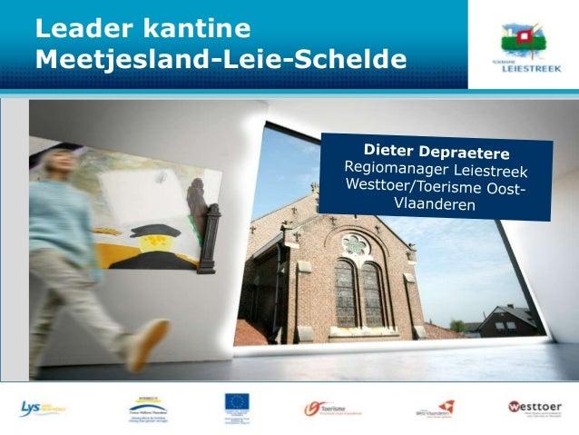 Leader kantineMeetjesland-Leie-Schelde
