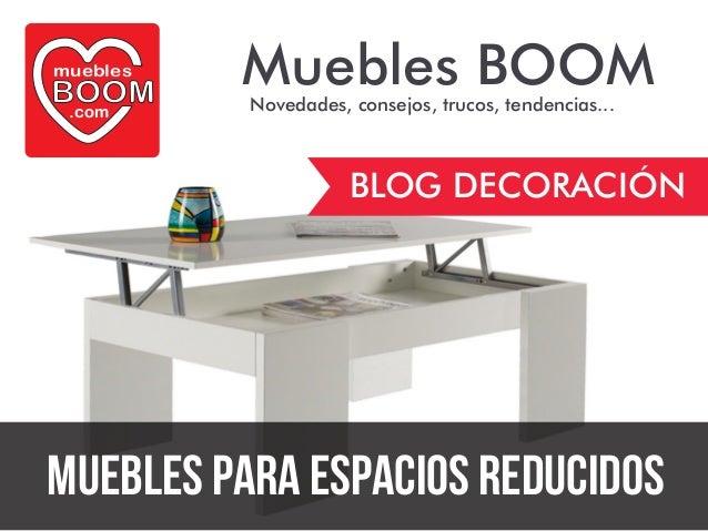 Gu a de decoraci n muebles para espacios reducidos de for Muebles para espacios reducidos