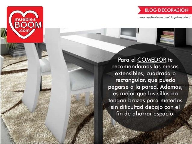Gu a de decoraci n muebles para espacios reducidos de muebles boom - Opiniones de muebles boom ...