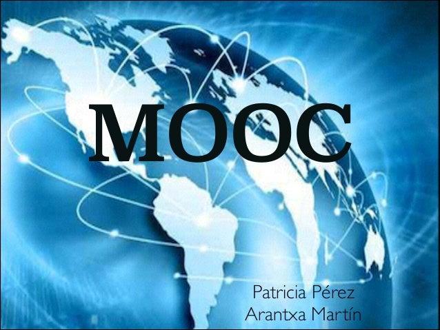 MOOC Patricia Pérez  Arantxa Martín