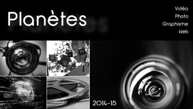 Projets  Com vidéo  Com photo  Graphisme  Com web  Commerciaux  Trésorier  Professionnalisant  Démarchage Conclusion  Part...