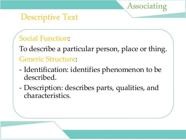 Powerpoint Presentation For Teaching Descriptive Text