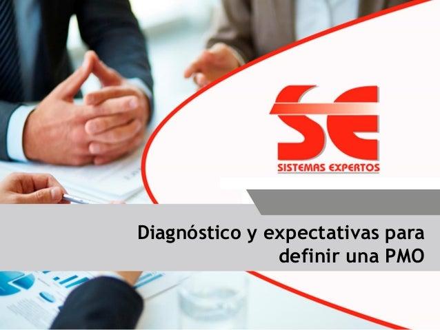 Diagnóstico y expectativas para definir una PMO