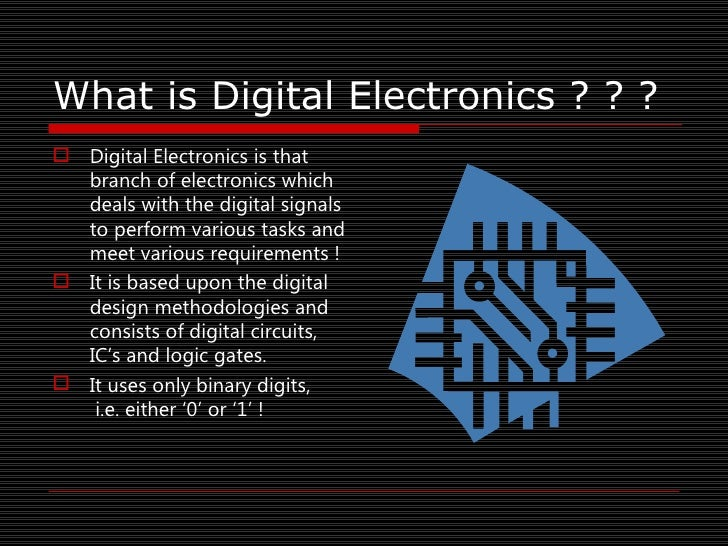 Ppt Digital Electronics