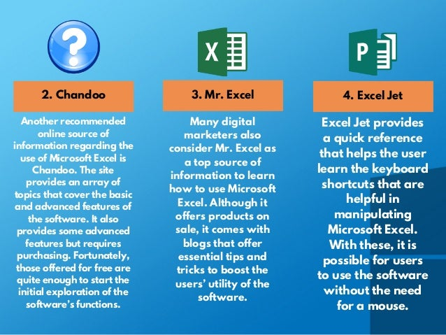 Top Free Online Sources to Learn How to Use Microsofft Excel