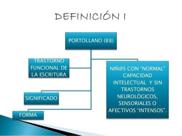 disgrafia respuesta educativa Slide 3