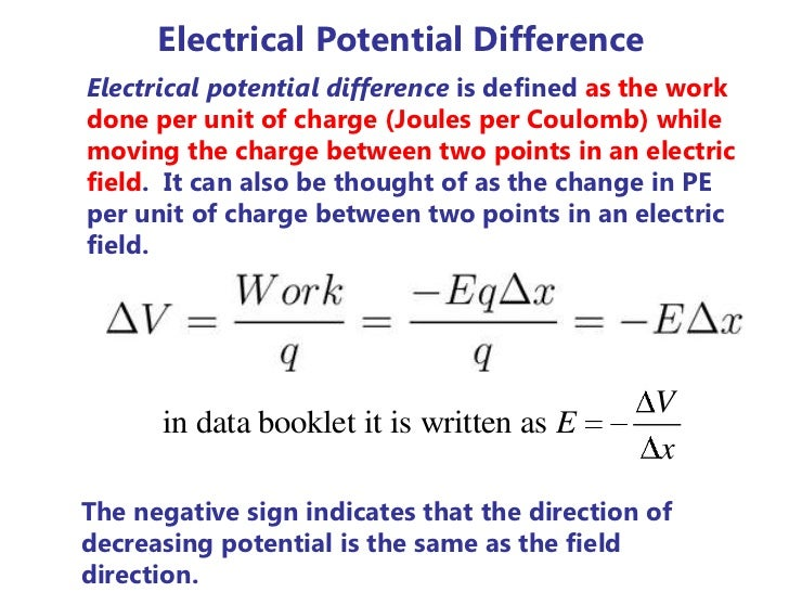 "resistance electric current and potential difference What determines how much current we get for a given applied electric field or  potential difference   properties of the conductor determine the ""resistance""."