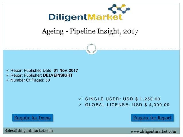 Ageing - Pipeline Insight, 2017