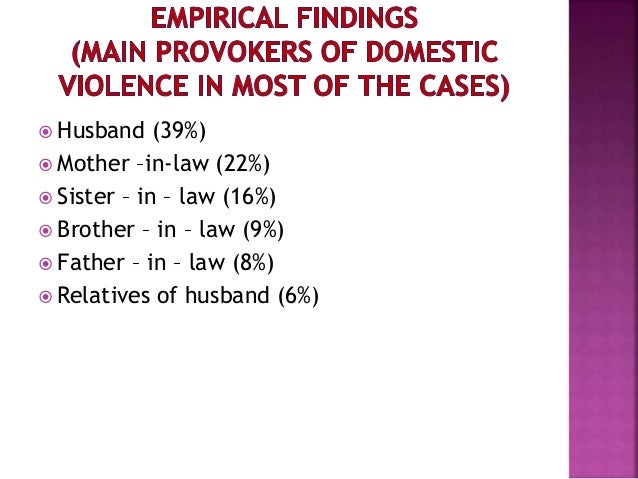 an analysis of domestic violence today The 2004 domestic violence, crime and victims act was intended to tidy up,   during the 1960s and 1970s what we know today as 'domestic violence' was  largely  a gendered analysis in the consideration of how and why violence  between.