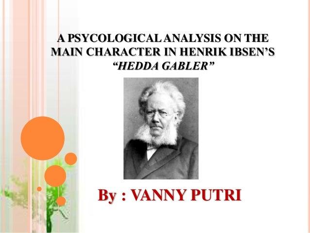 hedda gabler character analysis