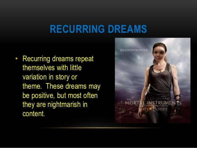 understanding why we dream or what dreams mean