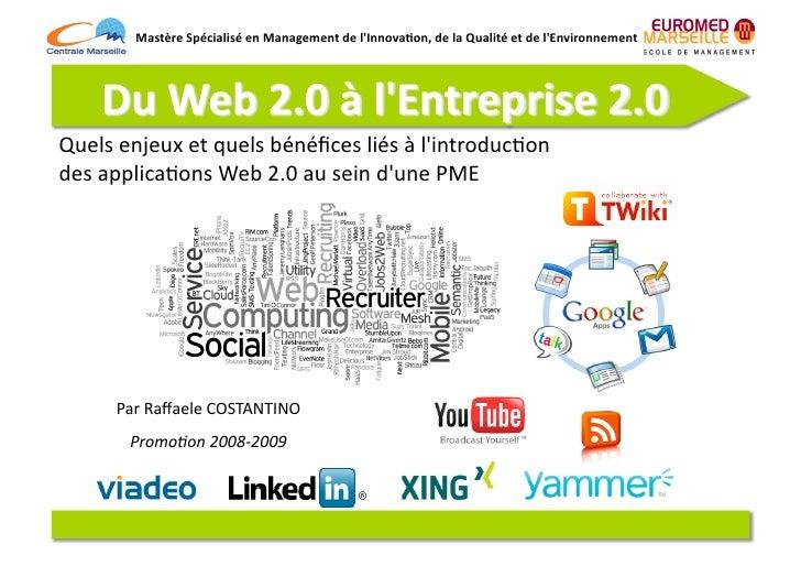 Mastère  Spécialisé  en  Management  de  l'Innova7on,  de  la  Qualité  et  de  l'Environnement   ...