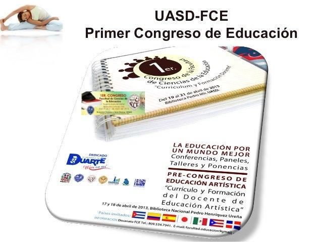 UASD-FCEPrimer Congreso de Educación