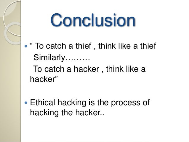 Learn how to think like a hacker to prevent security ...