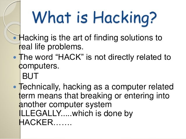 computer hacking problems and solutions Computer hacking: a global offense hacking also includes computer aided abuse problems and approaches associated with global hacking.